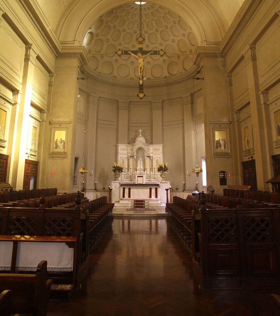 Main Altar including choir stalls