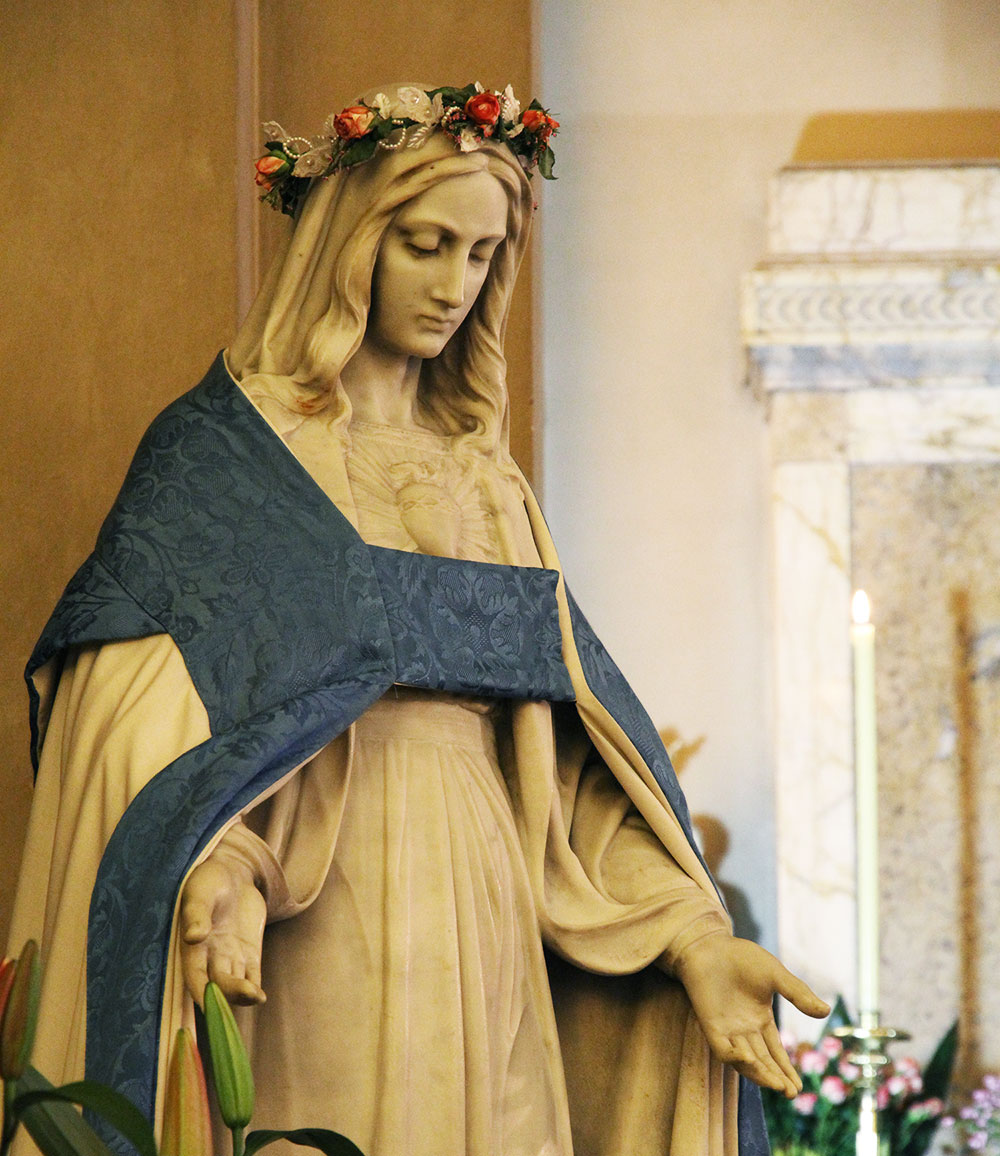 Statue of Our Lady Month of May