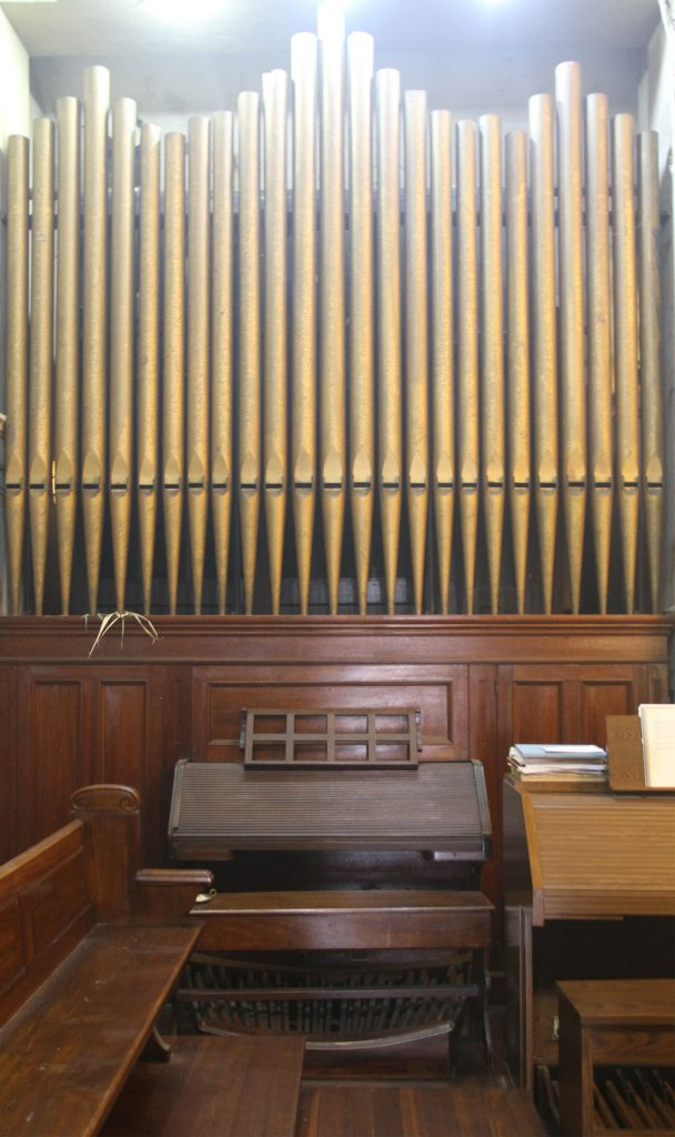 Pipe Organ of Maternal Heart Church