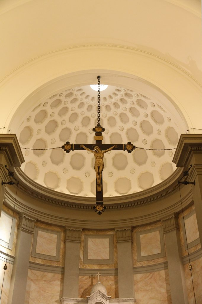 Crucifix above Main Altar